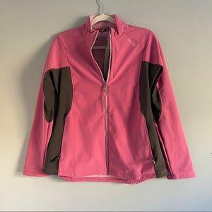 Saucony Pink/Black Performance Jacket Medium